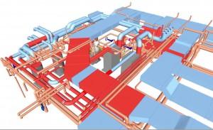 HVAC BIM coordination services