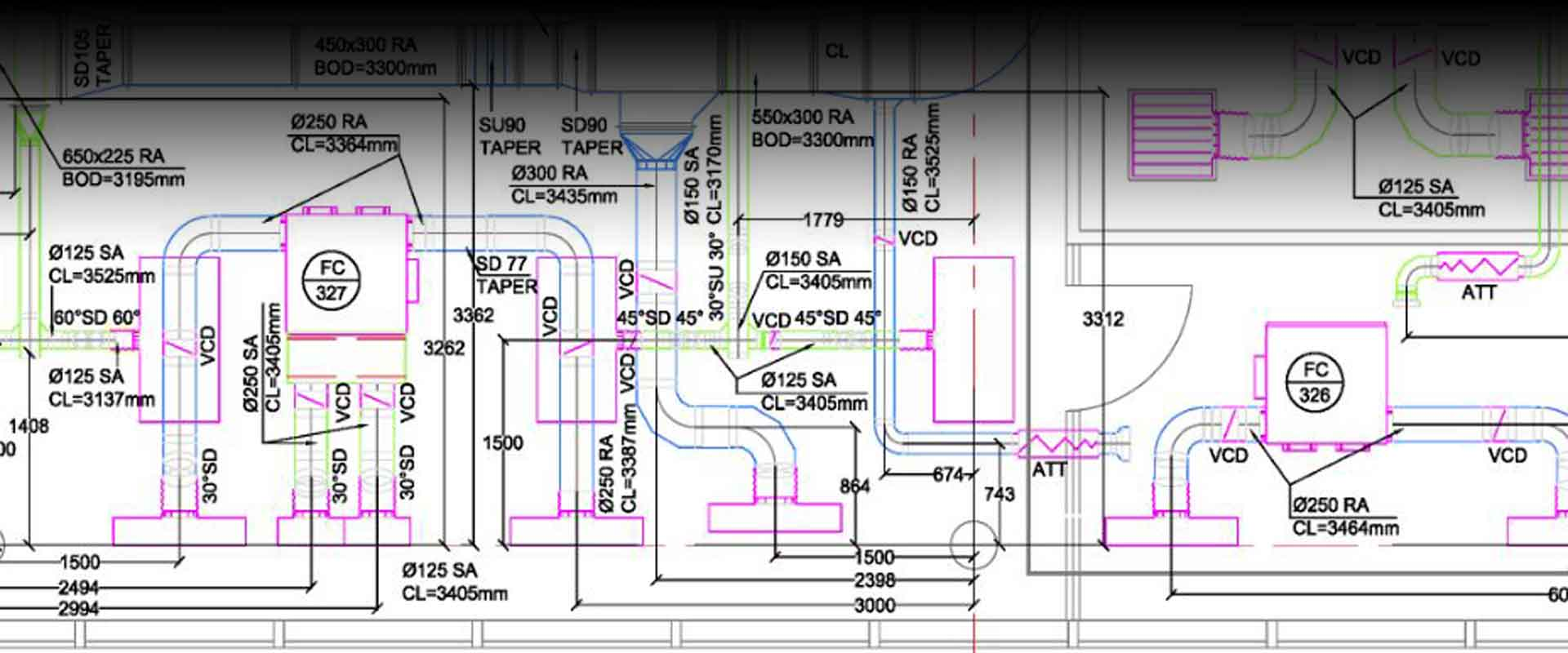 Bim Hvac Services Drawing Company Shop Drawings