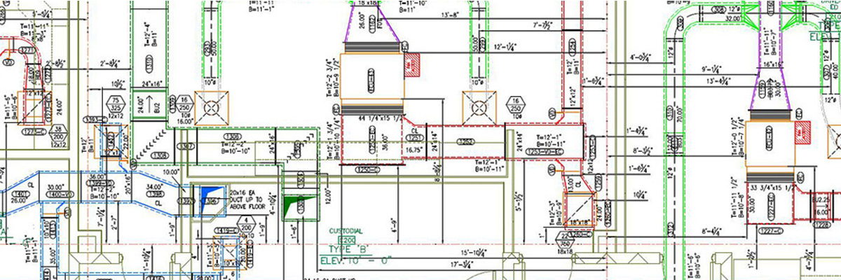 HVAC Shop Drawings | Ductwork and Piping Shop Drawings | Hvac Piping Drawing |  | HVAC BIM