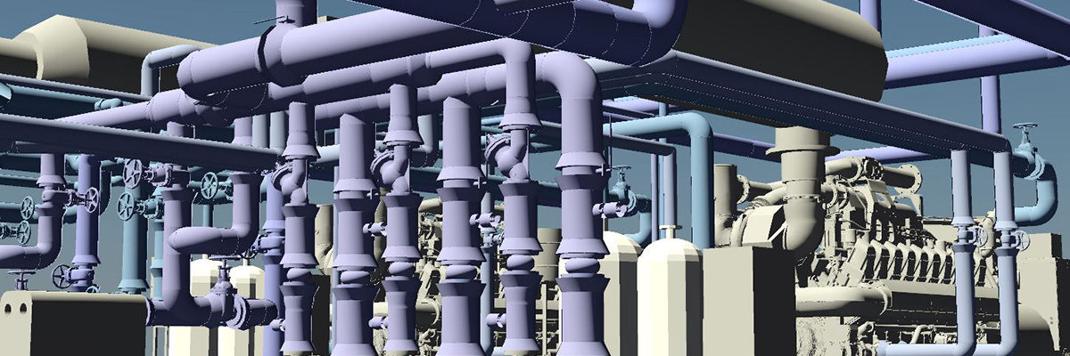 HVAC Pipe modeling