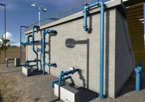 Hvac services for water plant