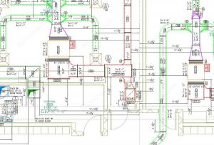 Hvac duct shop drawing