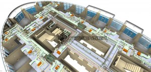 hvac-bim-commercial-building