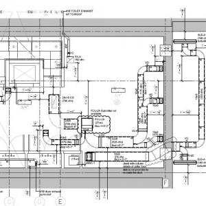 Duct layout drawing