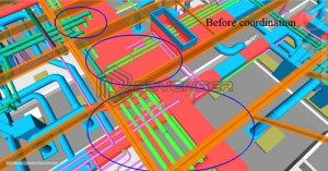 BIM spatial coordination